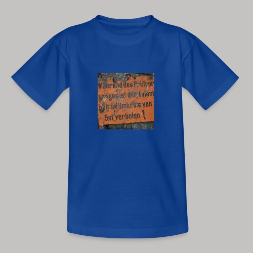 Verbot - Teenager T-Shirt