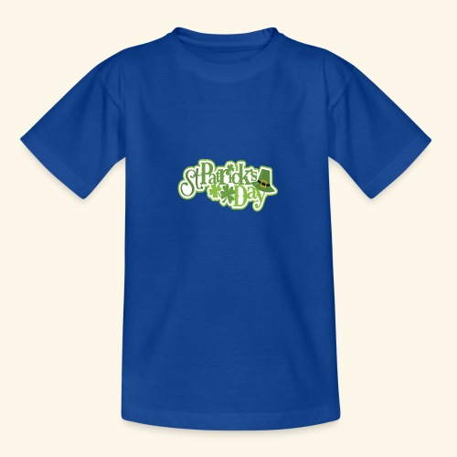St Patrick`s Day Leprechaun Riding fun gift tshirt - Teenage T-Shirt