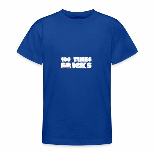 100 TIMES BRICKS retrò - Maglietta per ragazzi
