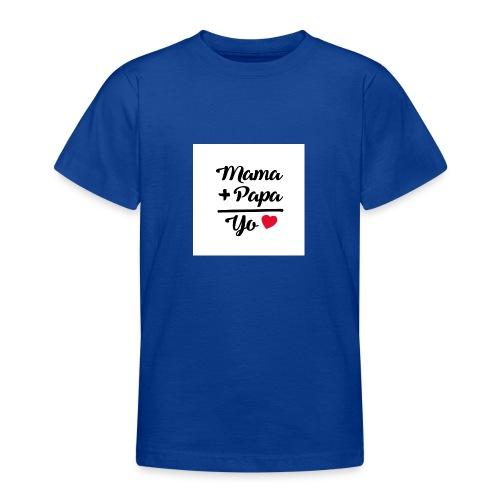 MAMA PAPA YO 1 - Camiseta adolescente