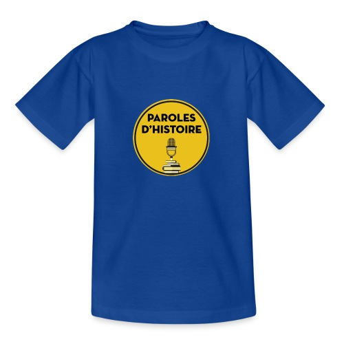Paroles d'histoire - T-shirt Ado
