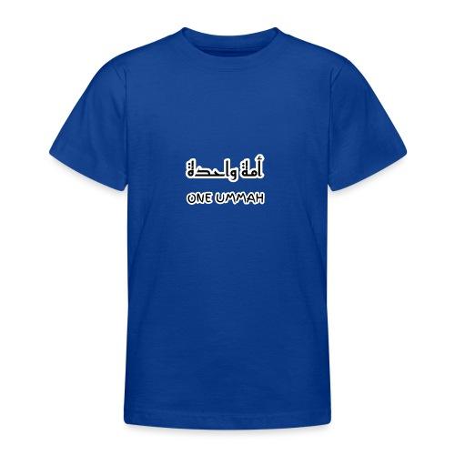 one ummah - Teenage T-Shirt