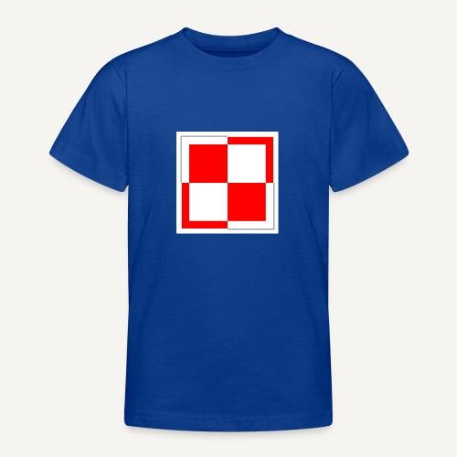 szachownica - Koszulka młodzieżowa
