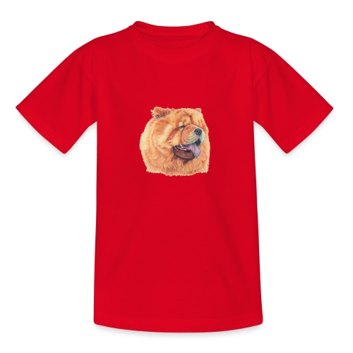 chow chow - Teenager-T-shirt