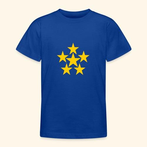 5 STERN gelb - Teenager T-Shirt