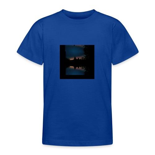 Gott ist gut - Sonnenhorizont Spiegelung Berliner - Teenager T-Shirt
