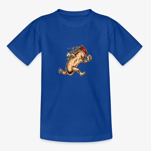 Hot Dog-Held - Teenager T-Shirt