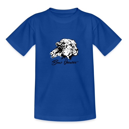 Bow Hunter Gepard 2 färbig - Teenager T-Shirt
