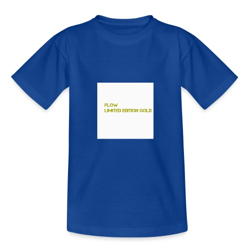 Flow Limited Edition Gold - Teenage T-Shirt