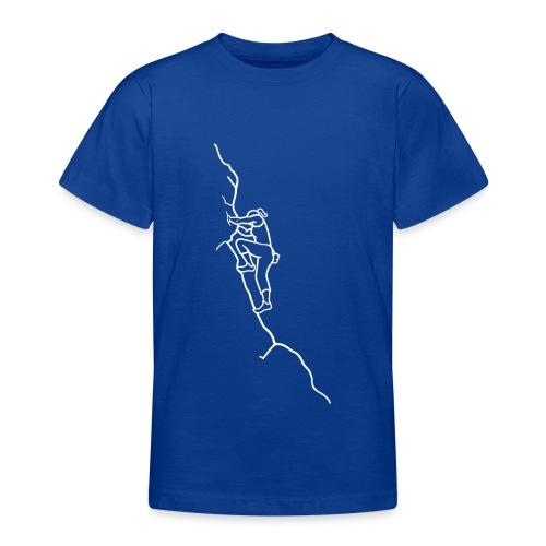 Kletter-Girl, weiß, 3 - Teenager T-Shirt