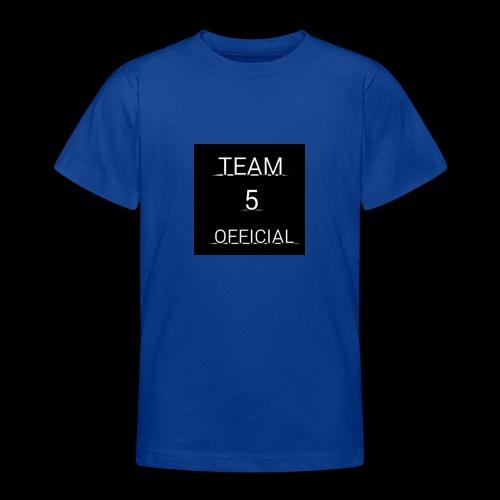 Team5 official 1st merchendise - Teenage T-Shirt