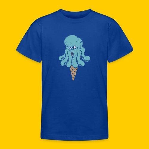 Octo blue - T-shirt tonåring