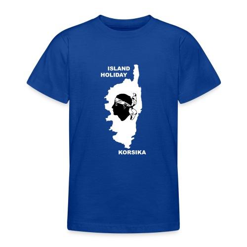 Korsika Insel Urlaub Holiday - Teenager T-Shirt