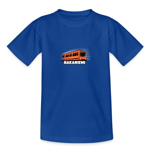 13- METRO HAKANIEMI - HELSINKI - LAHJATUOTTEET - Nuorten t-paita