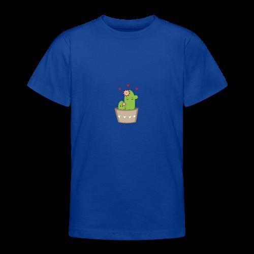 Kaktus Mama mit Kaktus Baby - Teenager T-Shirt