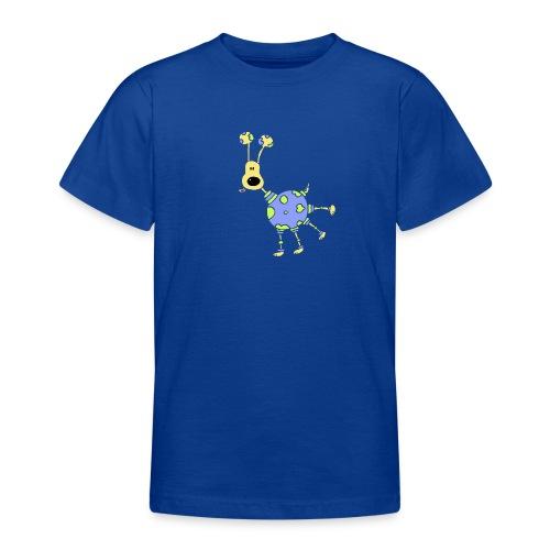 earthdog black 300 ok trans - Teenager T-shirt