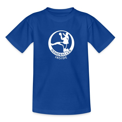 Handballer inside - Teenager T-Shirt