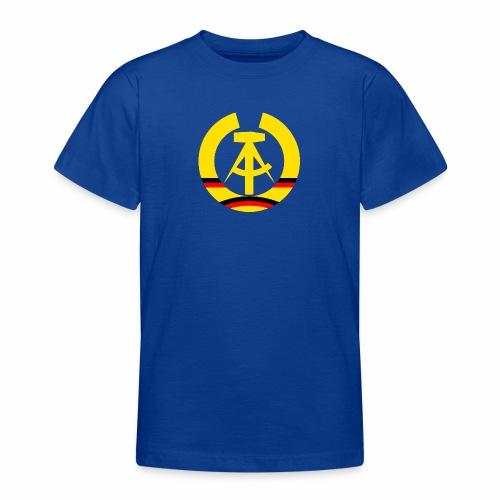 DDR coat of arms stylized (single) - Teenage T-Shirt