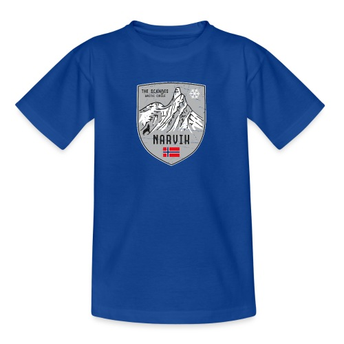 Narvik Norway coat of arms - Teenage T-Shirt