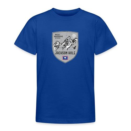 Jackson Hole USA Wappen - Teenage T-Shirt