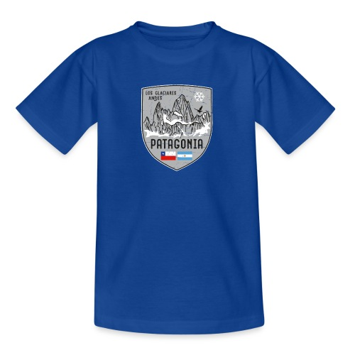 Fitzroy Patagonia coat of arms - Teenage T-Shirt