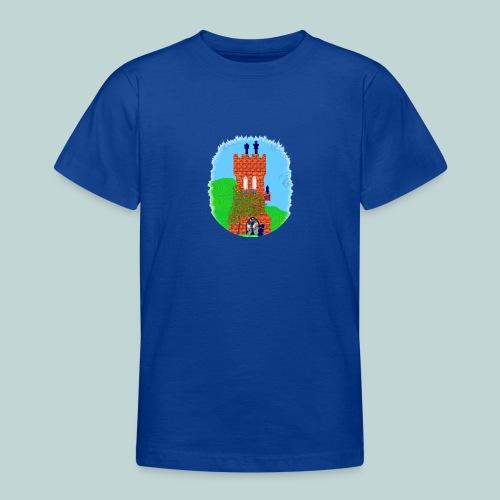 Schachturm romantisch - Teenager T-Shirt