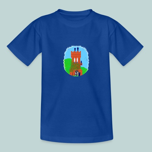 Schachturm romantisch - Teenager T-Shirt