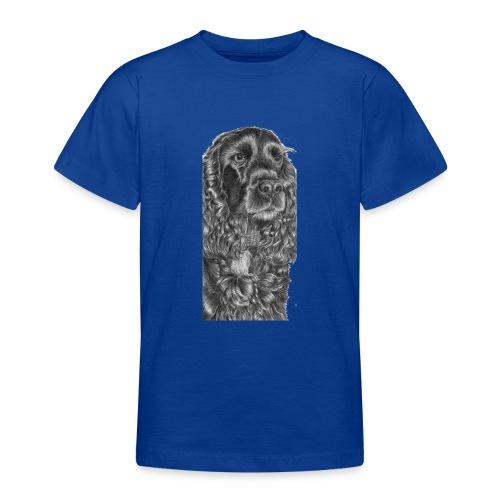 cockerSpaniel black - M - Teenager-T-shirt