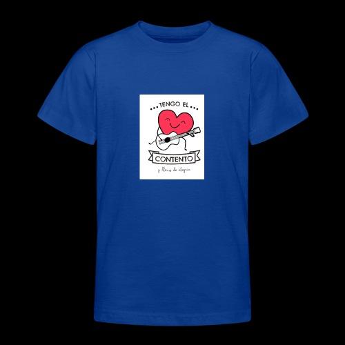 Tengo el corazón contento - Camiseta adolescente