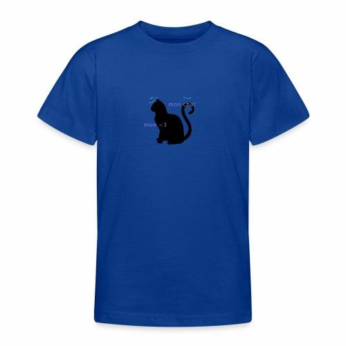 Mon Chat Mon <3 - T-shirt Ado