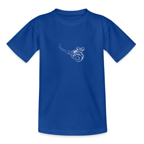 Atemregler weiss - Teenager T-Shirt