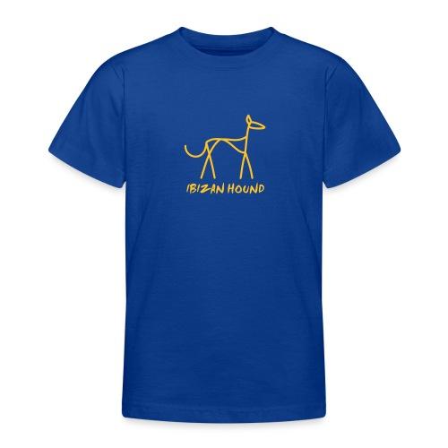 Podenco stilisiert - Teenager T-Shirt