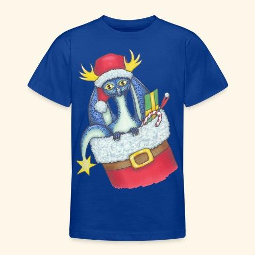 Juldrake - T-shirt tonåring