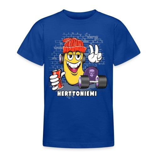 HERTTONIEMI SKATE 1 - Skateboard Helsinki - Nuorten t-paita