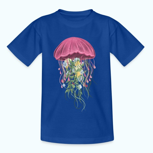 Qualle Aquarell - Teenage T-Shirt