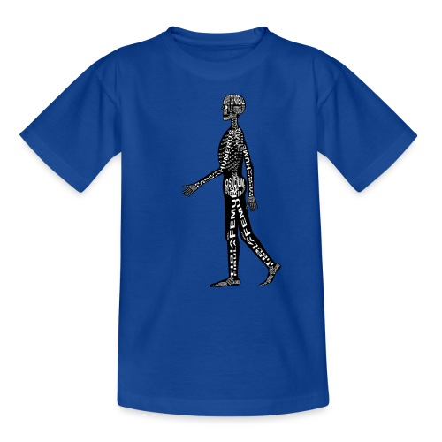 Menschen-Skelett - Nuorten t-paita