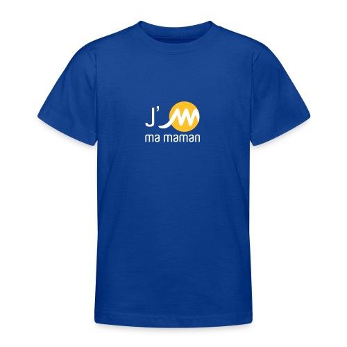 jMmamanblancjaune - T-shirt Ado