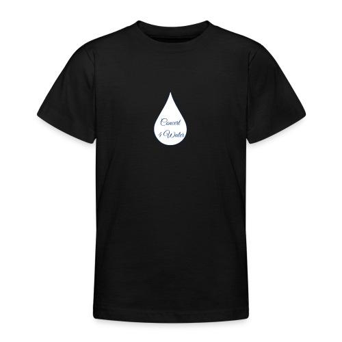 Concert 4 Water's Image Logo - Teenage T-Shirt