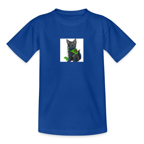 Wolfie Plays Gaming - Teenage T-Shirt