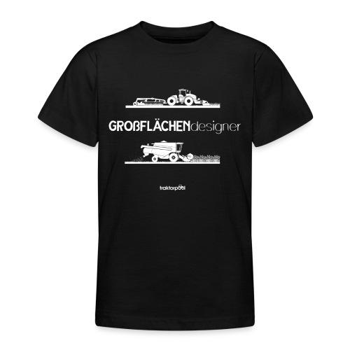 Großflächendesigner - Teenager T-Shirt