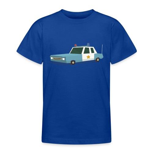 Police car t shirt - Teenage T-Shirt