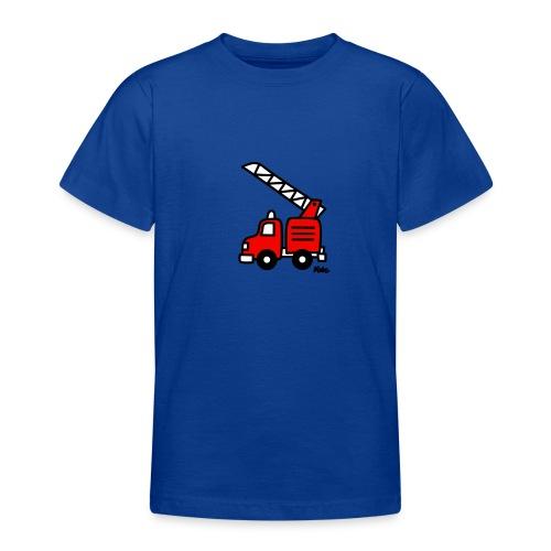 Feuerwehrauto (c) - Teenager T-Shirt