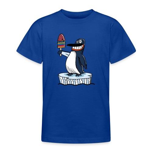 Funny Penguin Icecream Kids Smile: Penguin Ice - Maglietta per ragazzi
