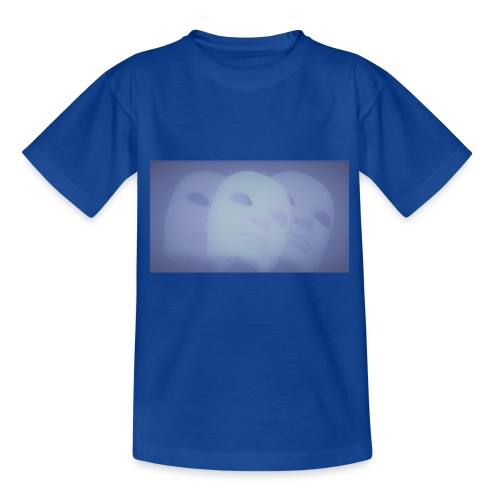 Maschere celeste - Maglietta per ragazzi