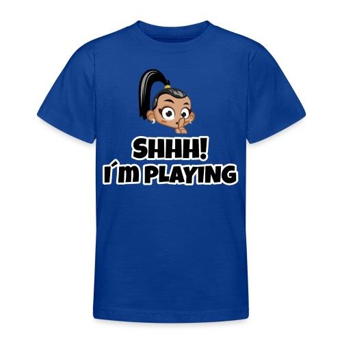 Shhh I'm Playing! Layla trivisk - Teenage T-Shirt