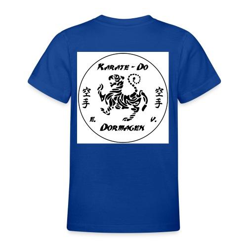 KDD Logo schwarz jpg - Teenager T-Shirt