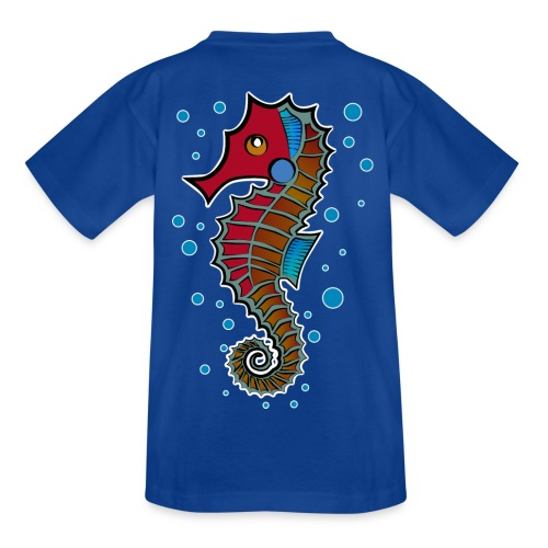 seepferdchen, sea horse, hippocampus - Teenager T-Shirt