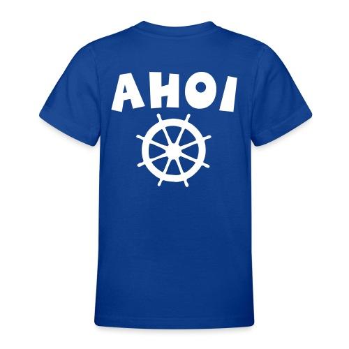 Ahoi Steuerrad Segel Segeln Segler - Teenager T-Shirt