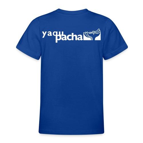 yaqupacha logo vektor - Teenager T-Shirt