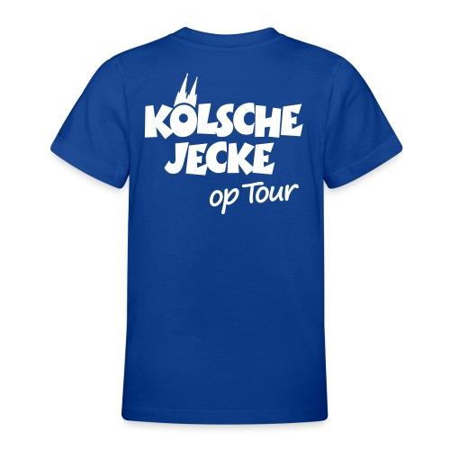 Kölsche Jecke Kölner Dom op Tour Köln Design - Teenager T-Shirt